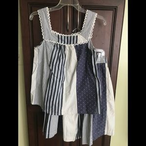 Boden top and skirt bundle! Size 6